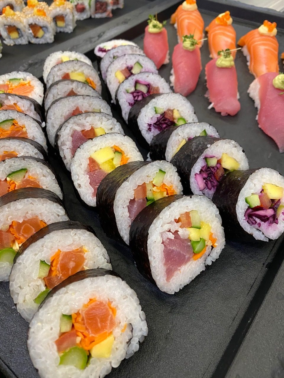 Selbstgemachtes Sushi ab 22.09.2020 bei uns!