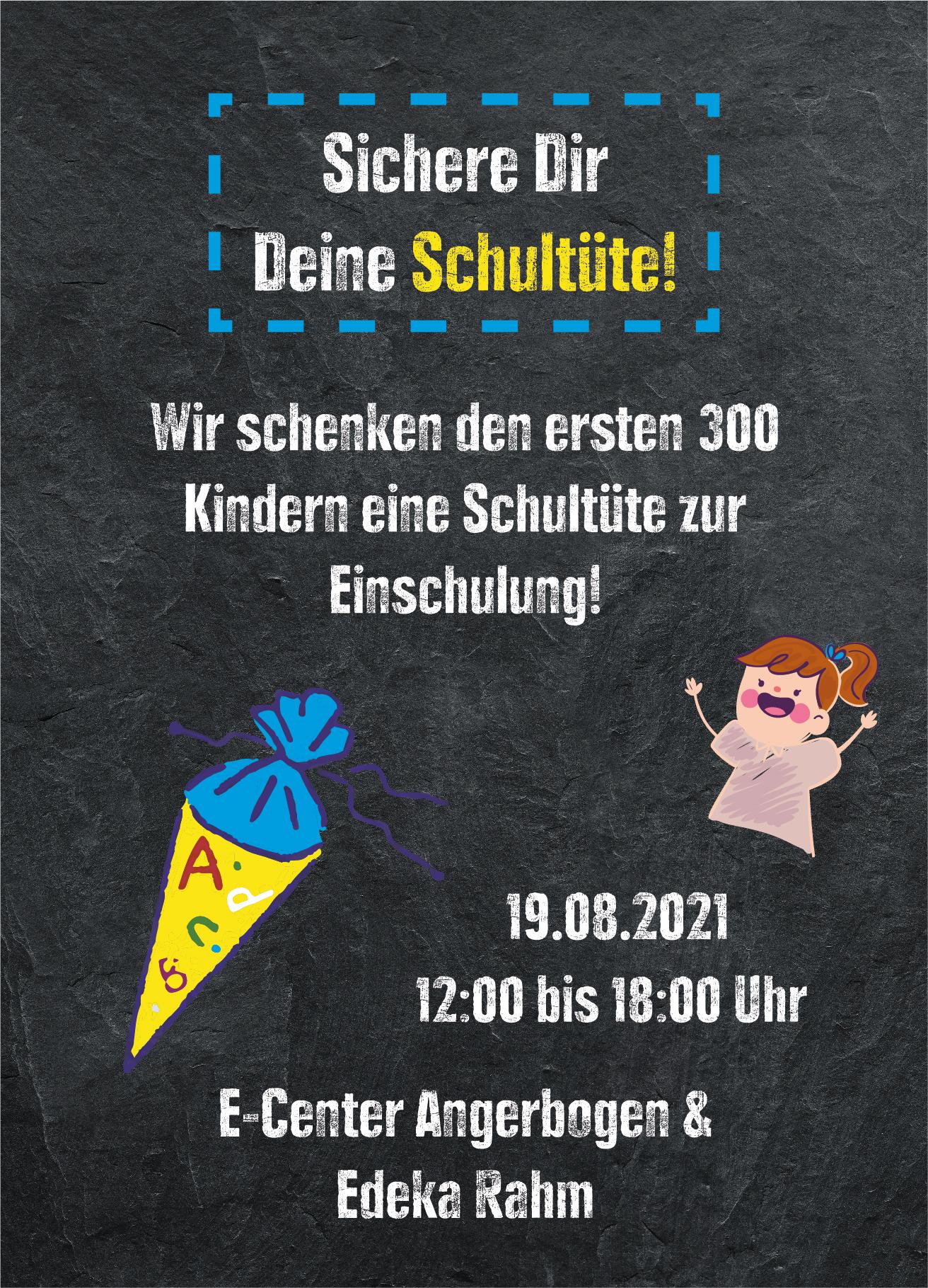 Read more about the article Sichere dir deine Schultüte! 19.08.2021