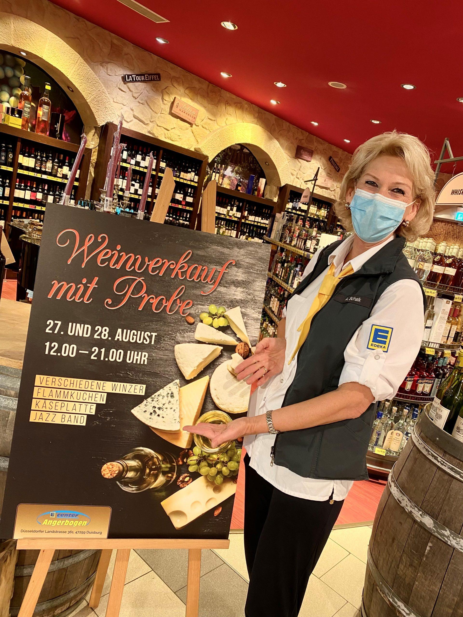 Read more about the article Weinverkauf mit Probe 27./28.08.2021